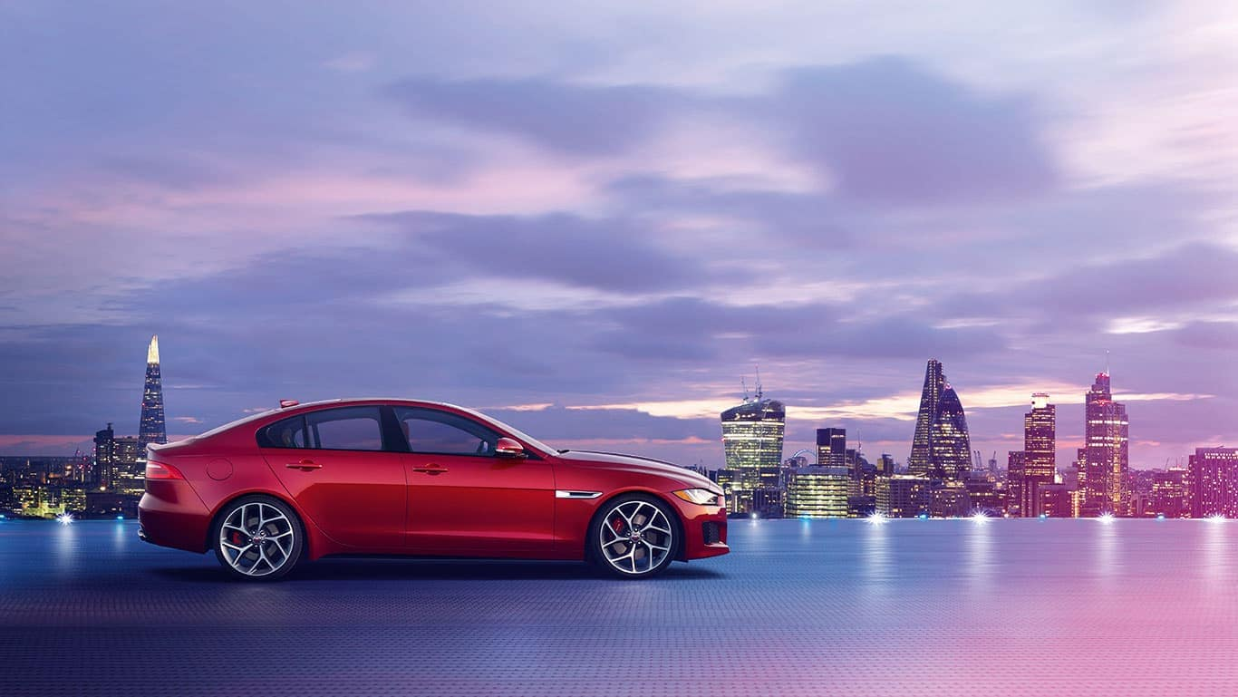 2019 Jaguar XE Exterior side view