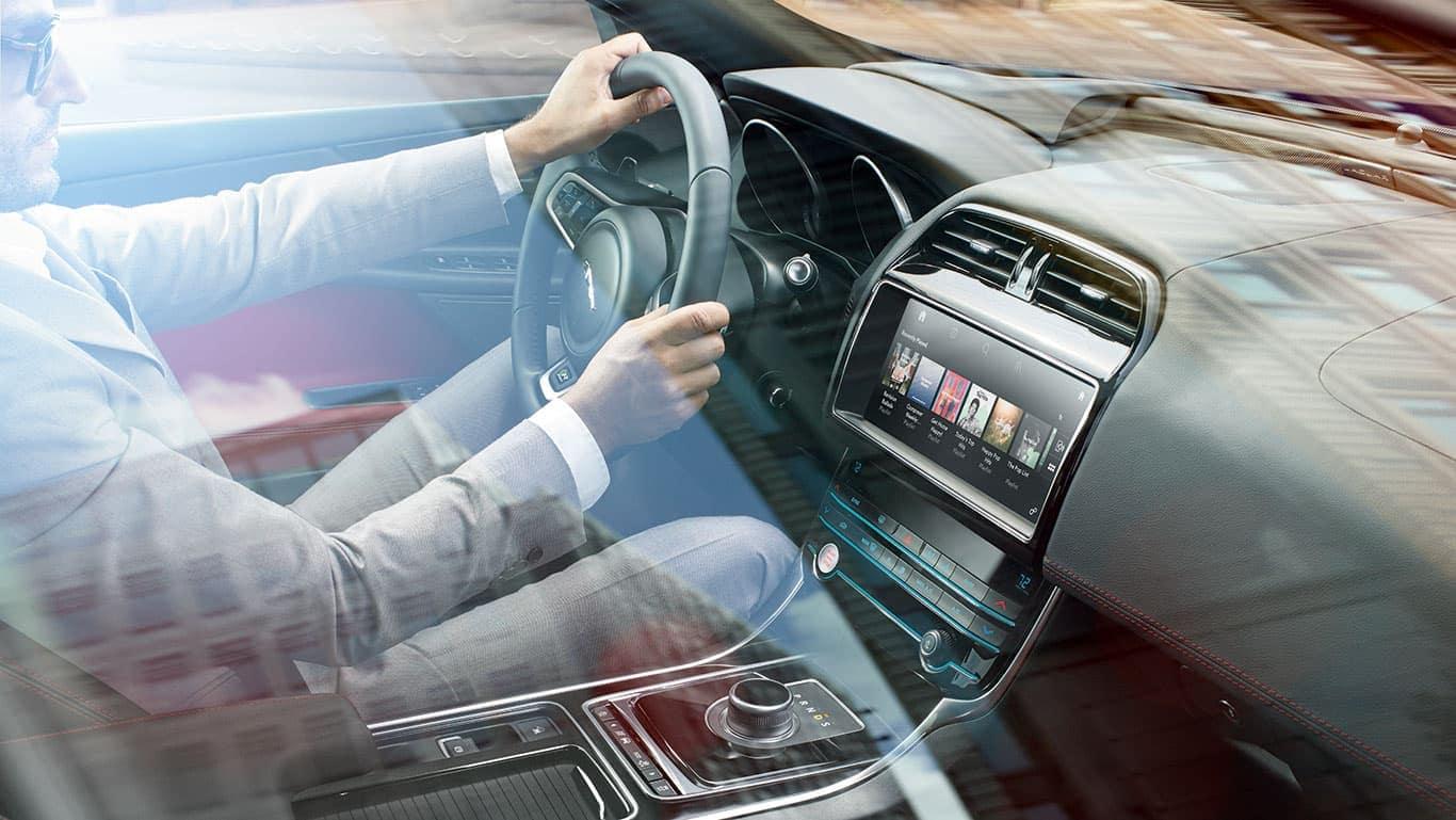 2019 Jaguar XE Exterior driving