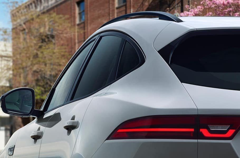 2019 Jaguar E-PACE taillight up close