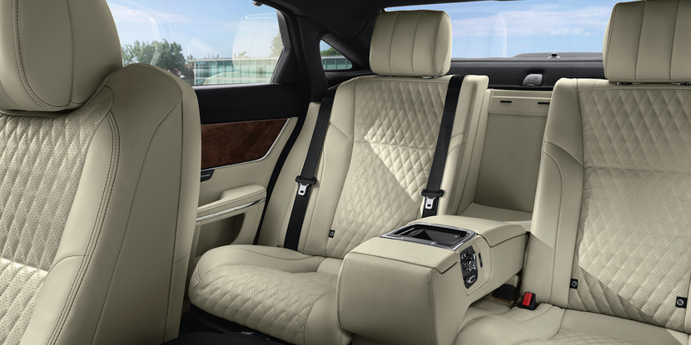 2019 Jaguar XJ interior second row