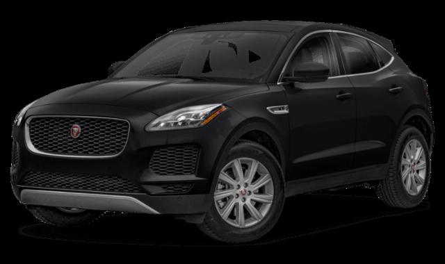 2019 Jaguar E-Pace black suv