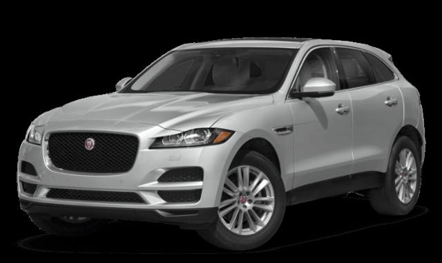 2019 Jaguar F-Pace silver SUV
