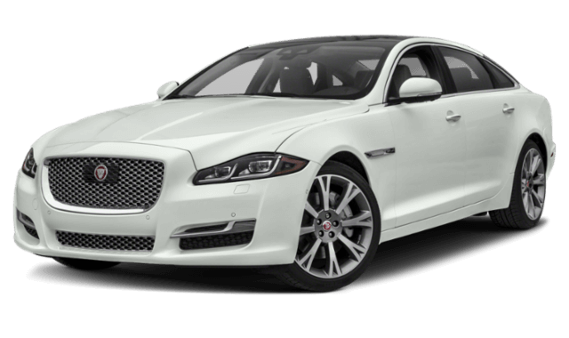 2019 Jaguar XJ white sedan