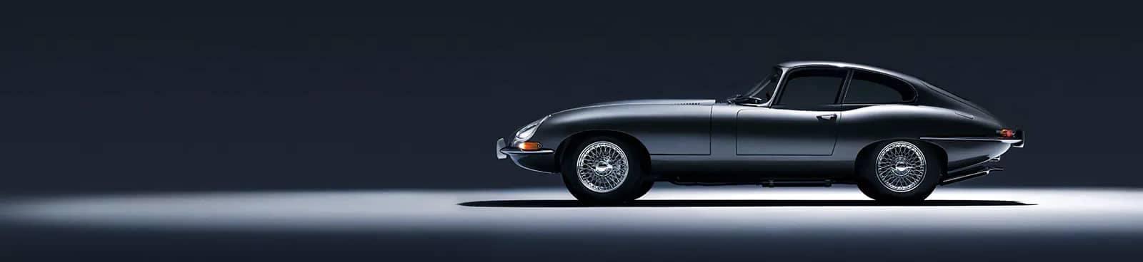 Classic Jaguar E-Type profile