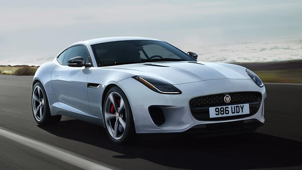 Lease a 2020 F-TYPE COUPE P300 Auto Checkered Flag LE