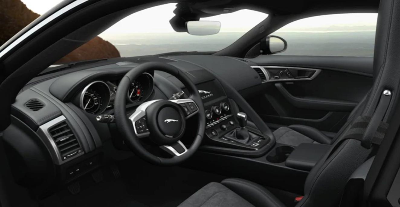 2020 Jaguar F-TYPE interior