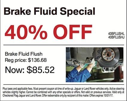 40% OFF Brake Fluid Special
