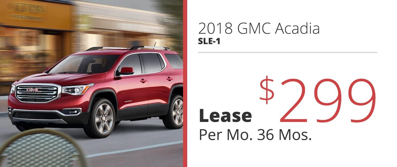 2018 GMC Acadia SLE-1