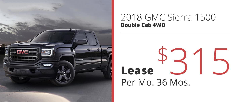 2018 GMC Sierra 1500 Double Cab 4WD