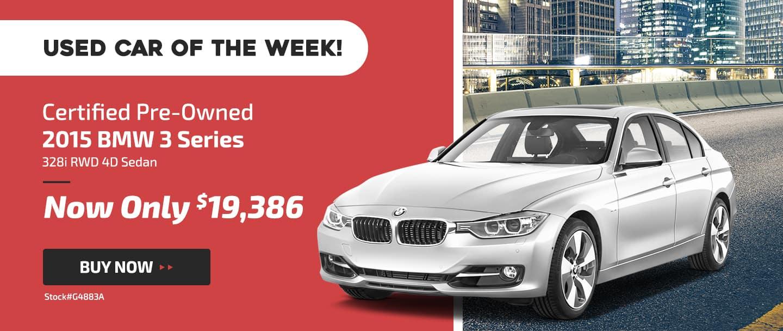 used car of the week 2015 BMW