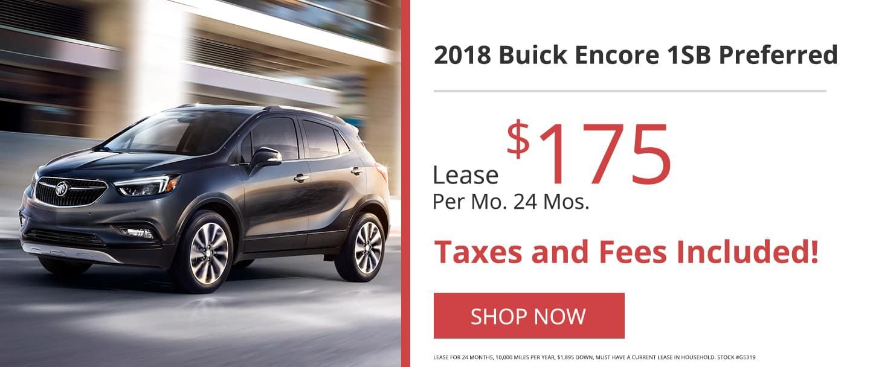 2018 Buick Encore 1SB Preferred