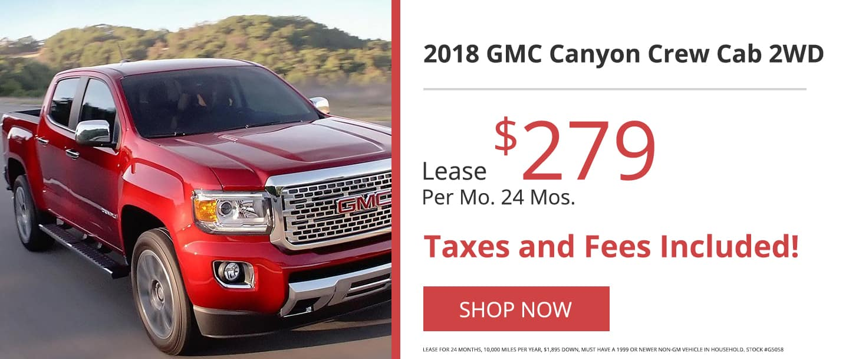 2018 GMC Canyon Crew Cab 2WD