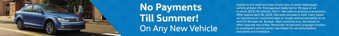 No Payments Till Summer