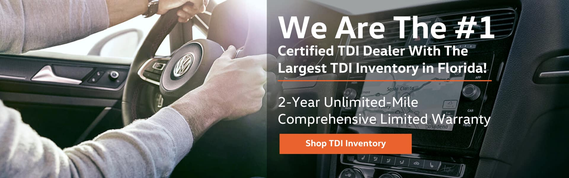 Largest TDI Inventory in FL