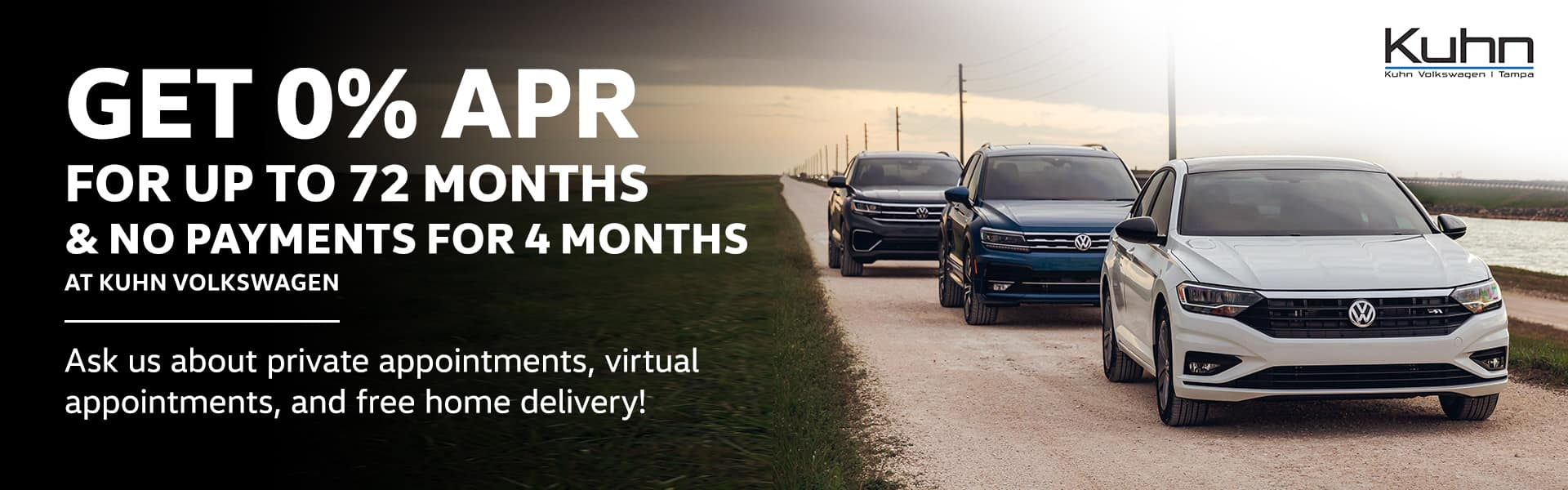 Get 0% apr for up to 72 months and no payments for 6 months