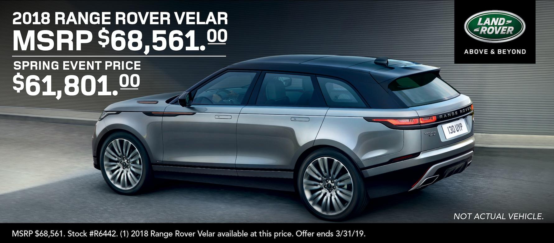 Velar Lease Special in Reno