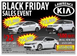 Lawrence Kia Black Friday Sales Event