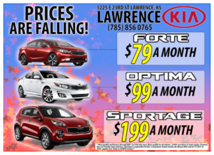 Falling Prices at Lawrence Kia