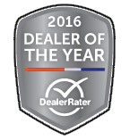 DealerRater - 2016 Dealer of the Year