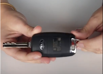 How To Change A Key Fob Battery With A Key Lawrence Kia
