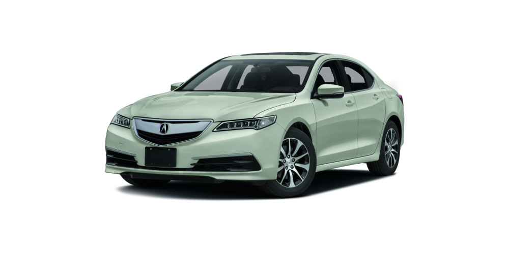 2017 Acura TLX on white
