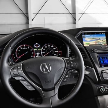 2017 Acura ILX Interior Dashboard
