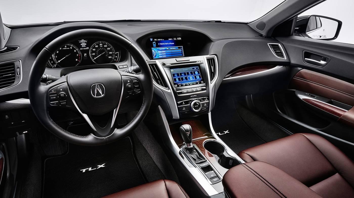 The 2017 Acura TLX Interior