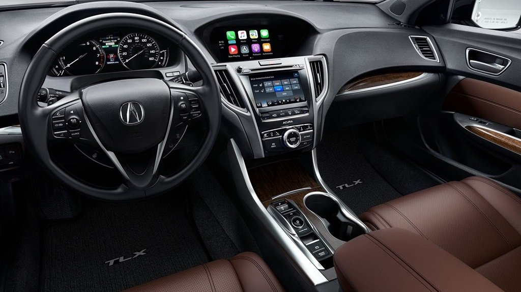 2018 Acura TLX with Advance Package and Espresso Interior