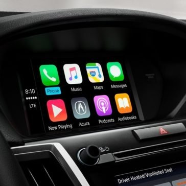 2018 Acura TLX Apple Carplay