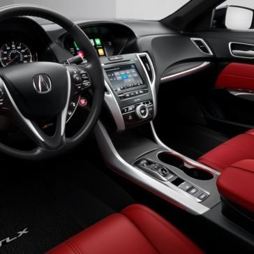 2018 Acura TLX A-SPEC Package and Red Interior