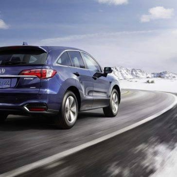 2018 Acura RDX driving rear view