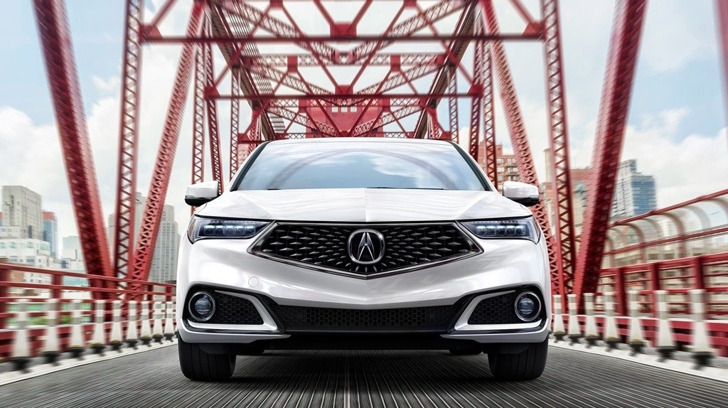 2018 Acura TLX front grille