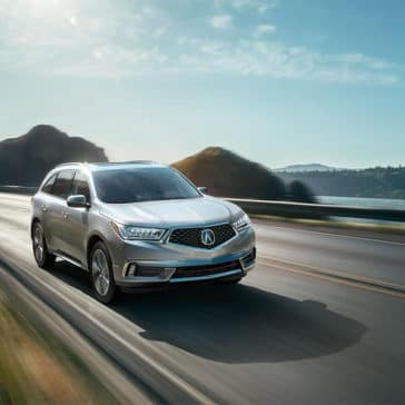 2018 Acura MDX Advance Pkg Lunar Silver Metallic