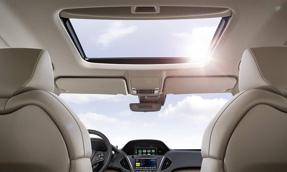 2018 Acura MDX Sunroof Parchment Interior