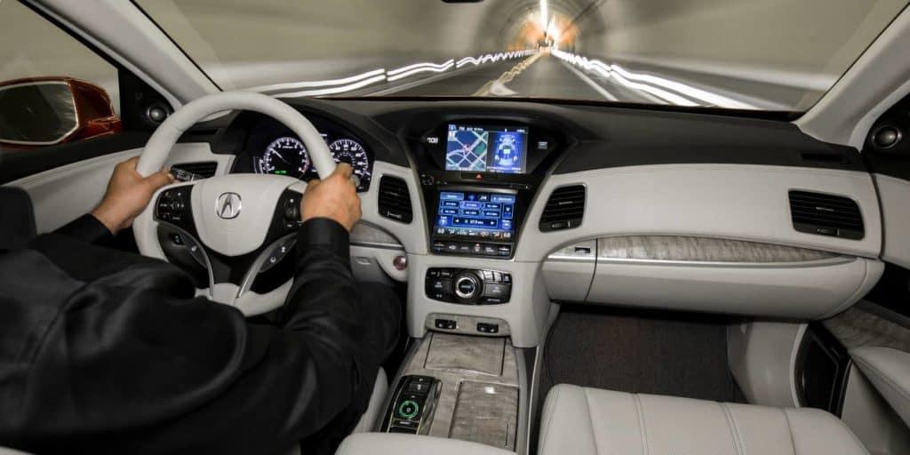 2020 Acura RLX Interior Dashboard