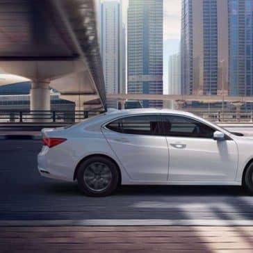 Platinum White 2019 Acura TLX