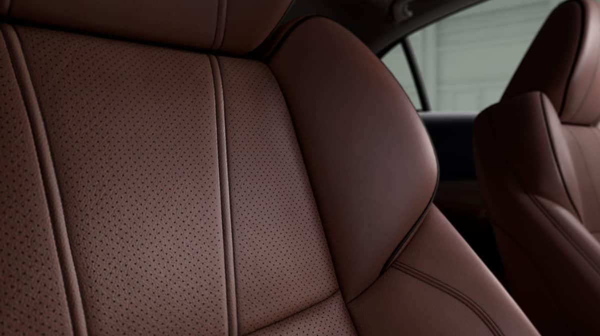 Perforated milano leather seats in 2019 Acura TLX