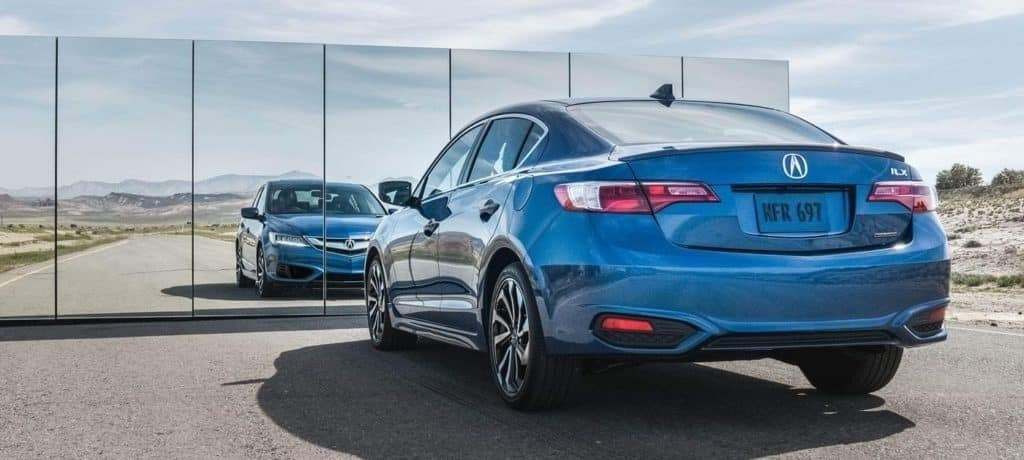 2018 Acura ILX Looking Into Mirror