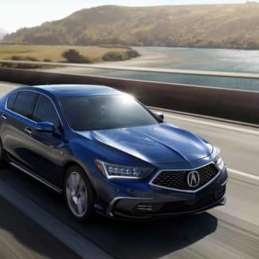 2019 Acura RLX on road