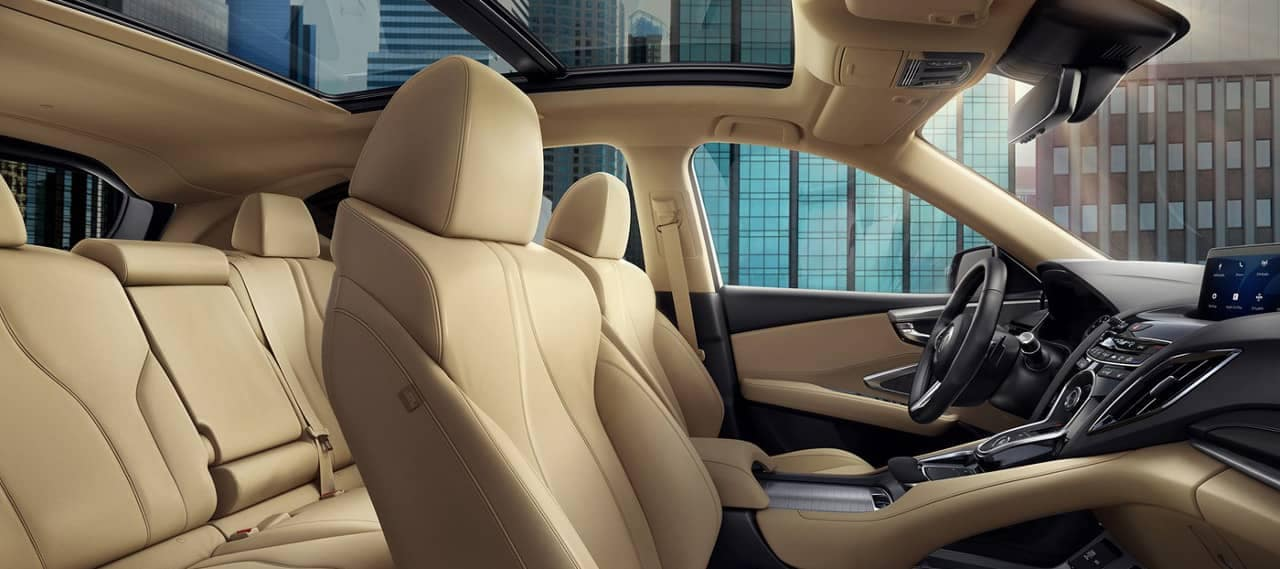 interior leather of 2019 Acura RDX