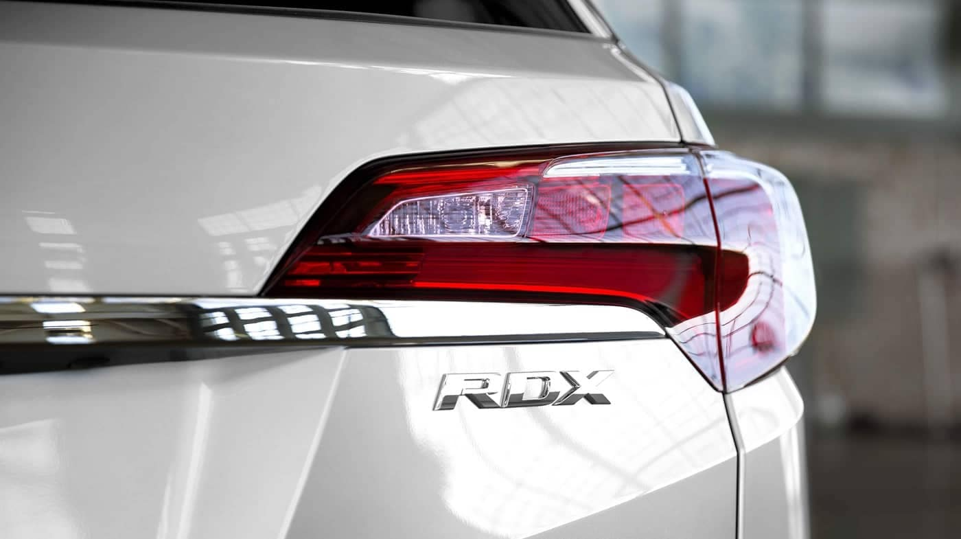 taillight of 2018 Acura RDX