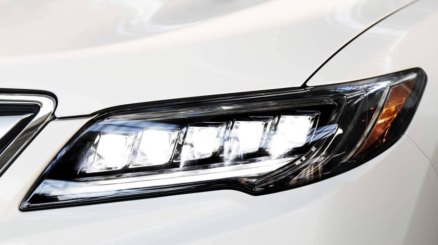 headlight of 2018 Acura RDX