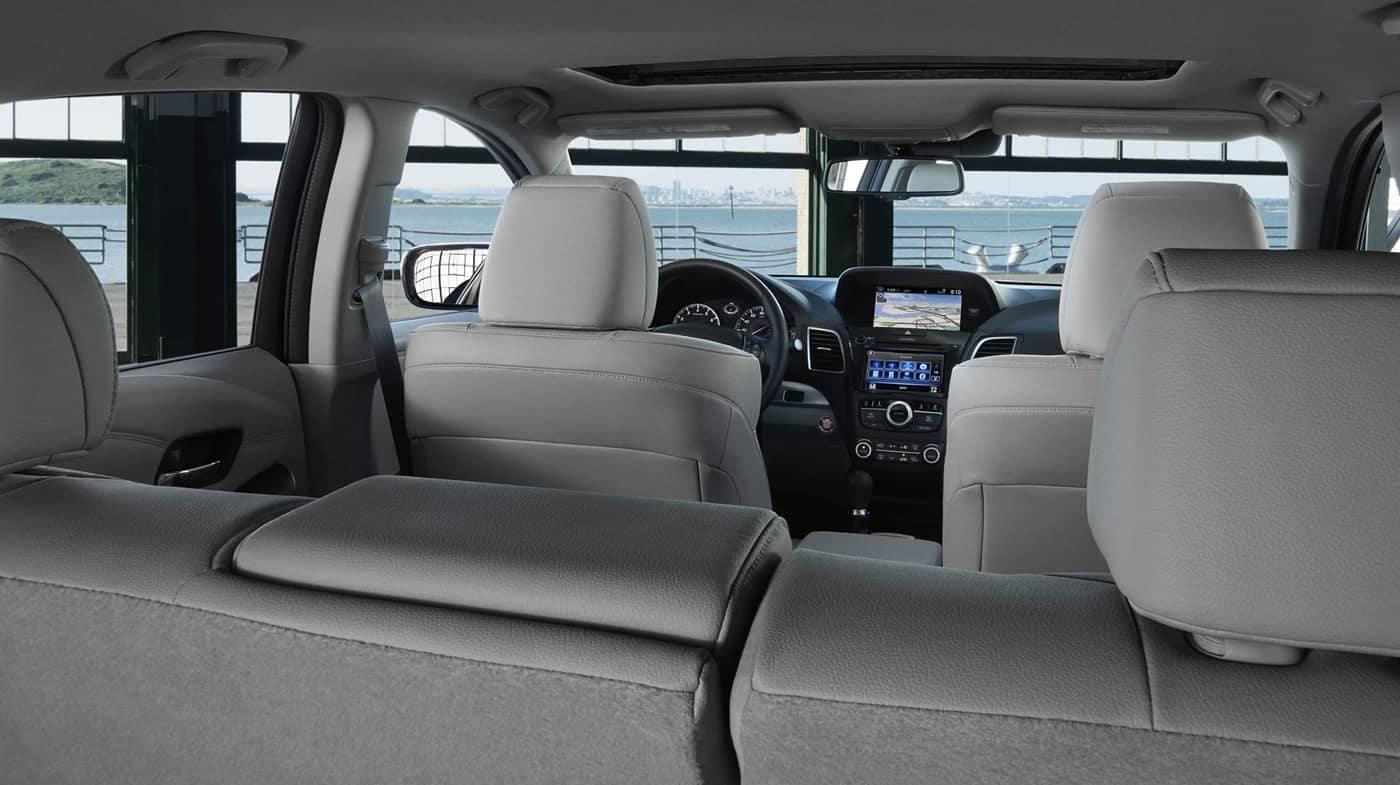 interior cabin of 2018 Acura RDX