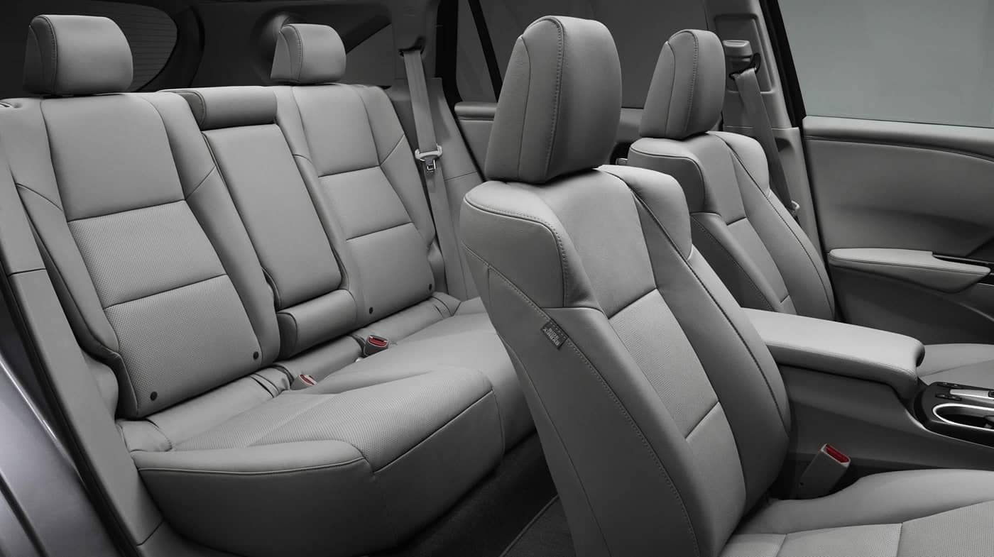seating in 2018 Acura RDX