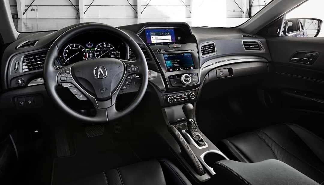 2019-Acura-ILX-in-ebony-interior