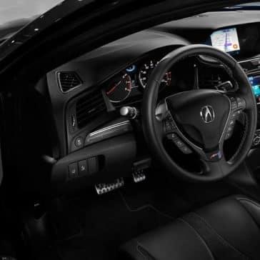 interior cabin of 2019 Acura ILX