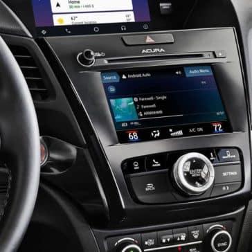 multi-use display in 2019 Acura ILX
