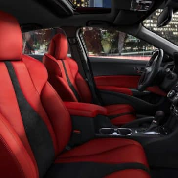red leather in 2019 Acura ILX