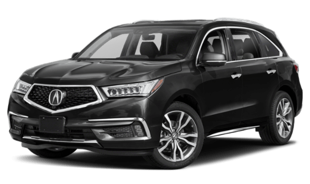 2019 Acura MDX with a Black Exterior