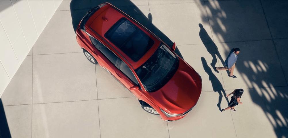 2019 Acura RDX in Bright Red